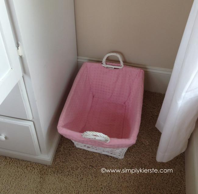 nursery laundry basket | oldsaltfarm.com