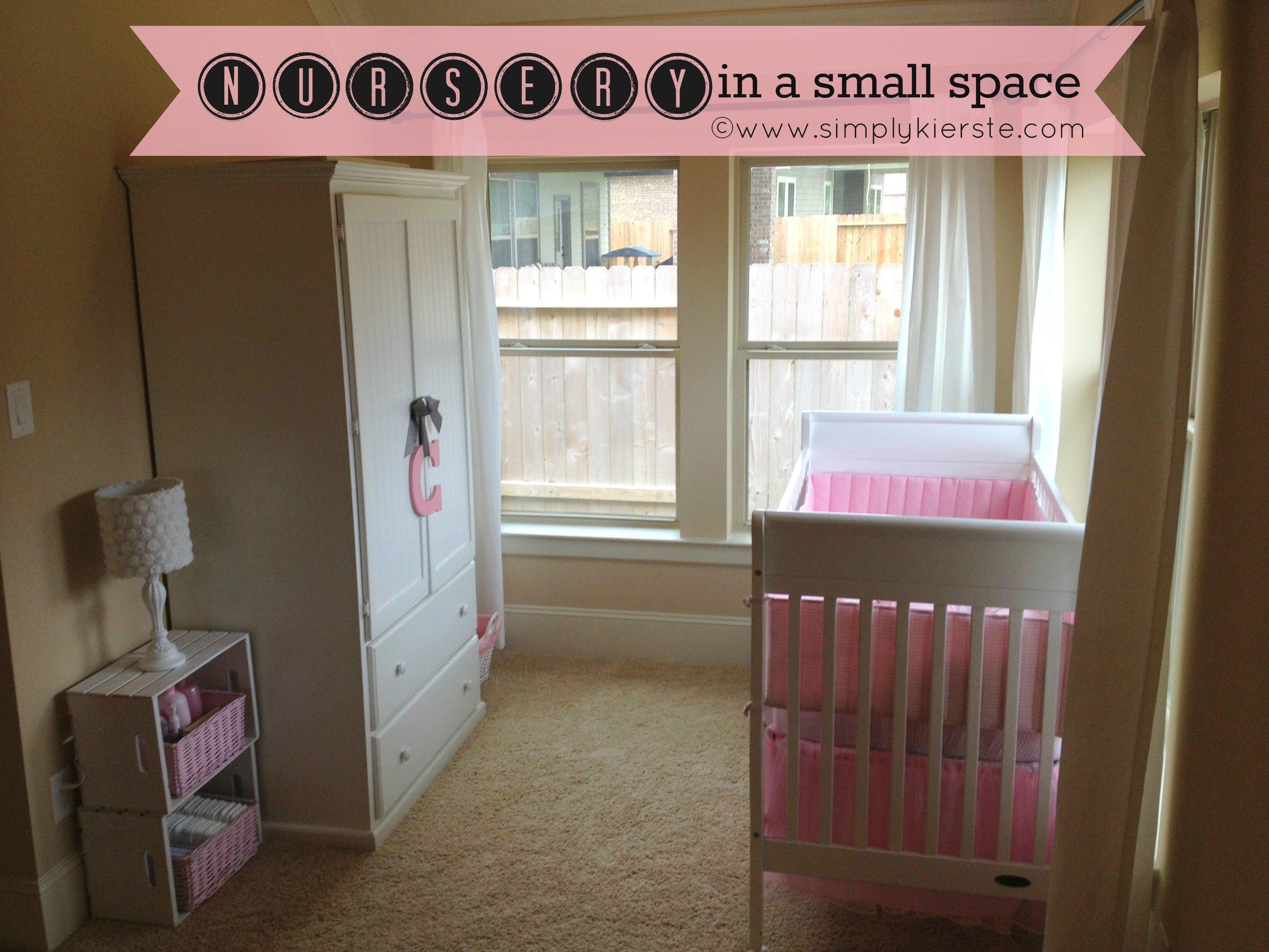 Nursery in a Small Space | simplykierste.com
