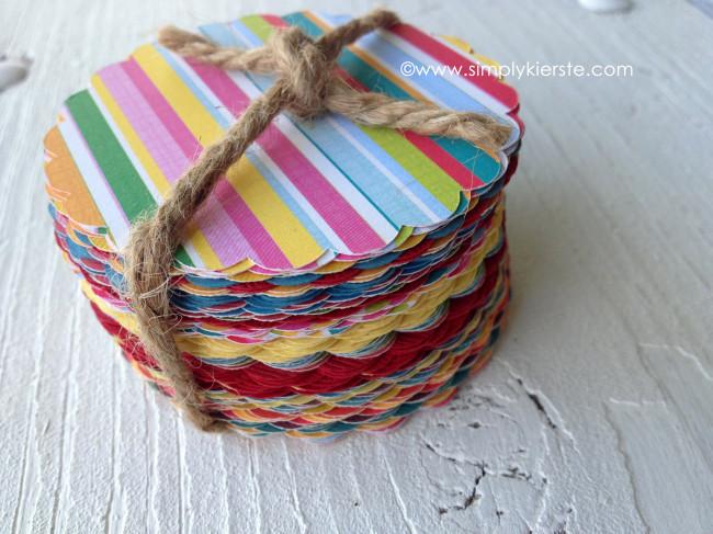 paper sack card scallop tags | oldsaltfarm.com