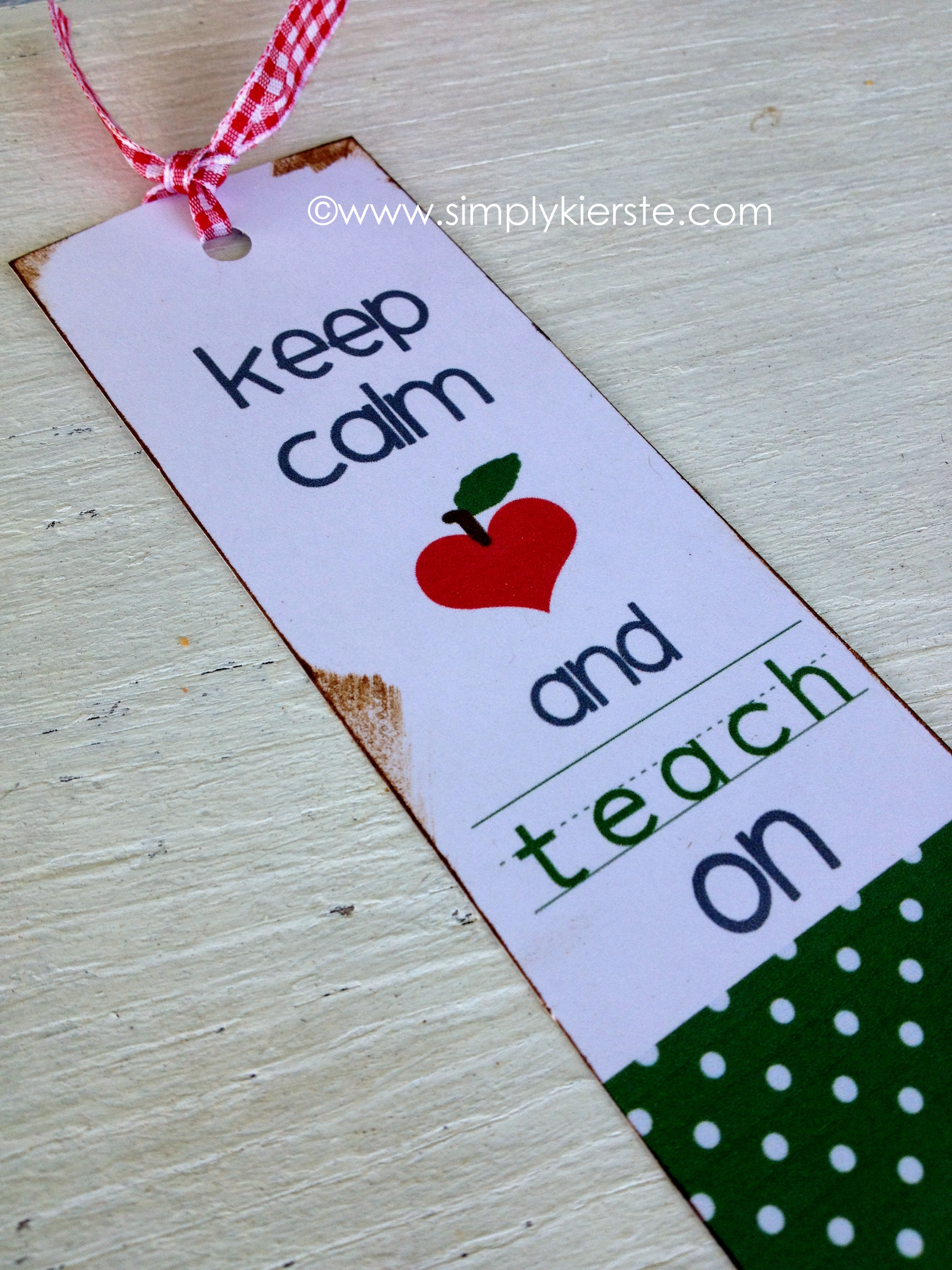 Very Keep Calm and Carry OnTeacher Bookmarks }| simplykierste.com HB85