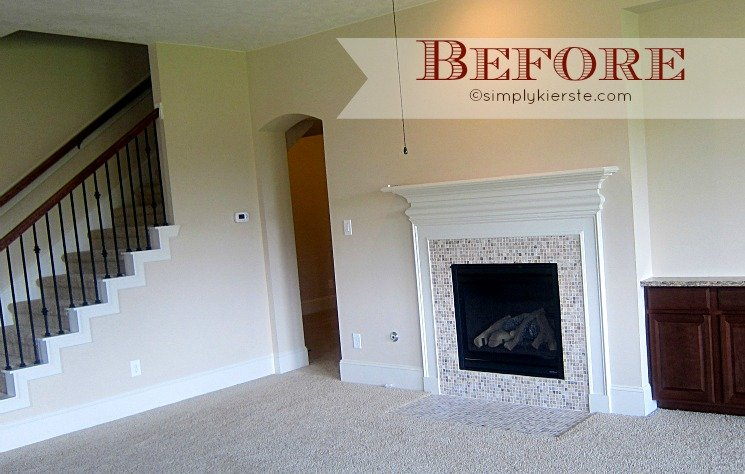 Airstone Fireplace Makeover: Fireplace Makeover Using Airstone