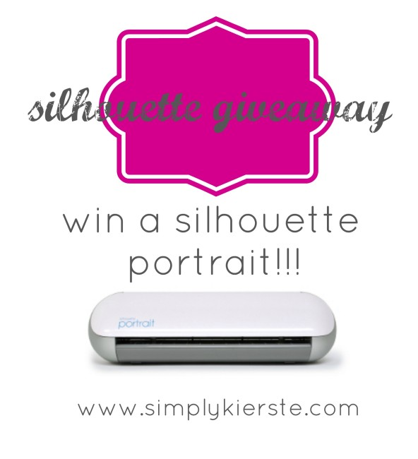 silhouette giveaway | simplykierste.com
