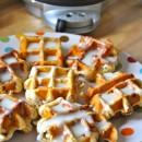 pinterest love | cinnamon roll waffles | simplykierste.com