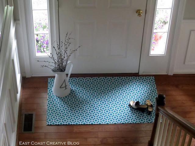 diy floor mat | oldsaltfarm.com