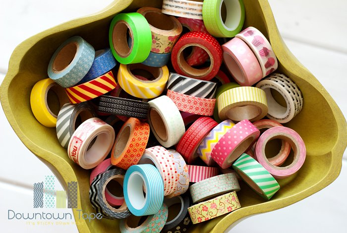Downtown Tape 50 rolls of washi