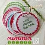 {summer bucket list & free printables}
