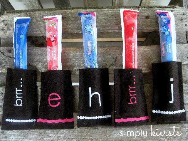 ice pop holders | simplykierste.com
