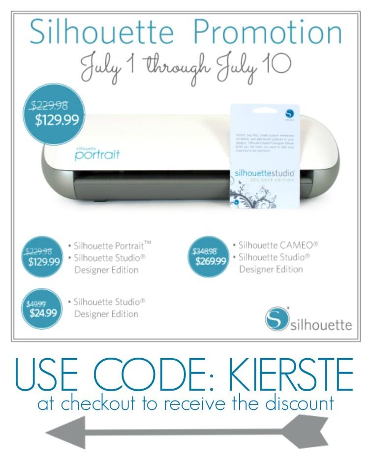 july silhouette promo | simplykierste.com
