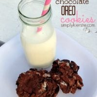 {chocolate oreo cookies}