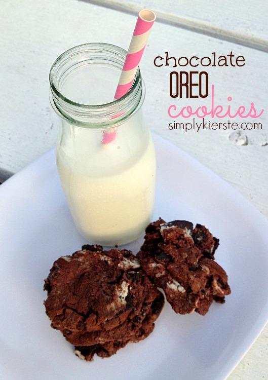 {chocolate oreo cookies}