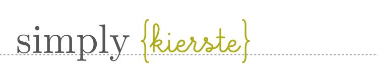 simply kierste logo