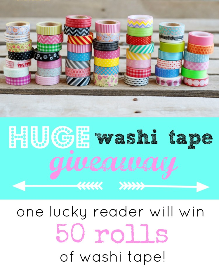 washi tape giveaway | simplykierste.com