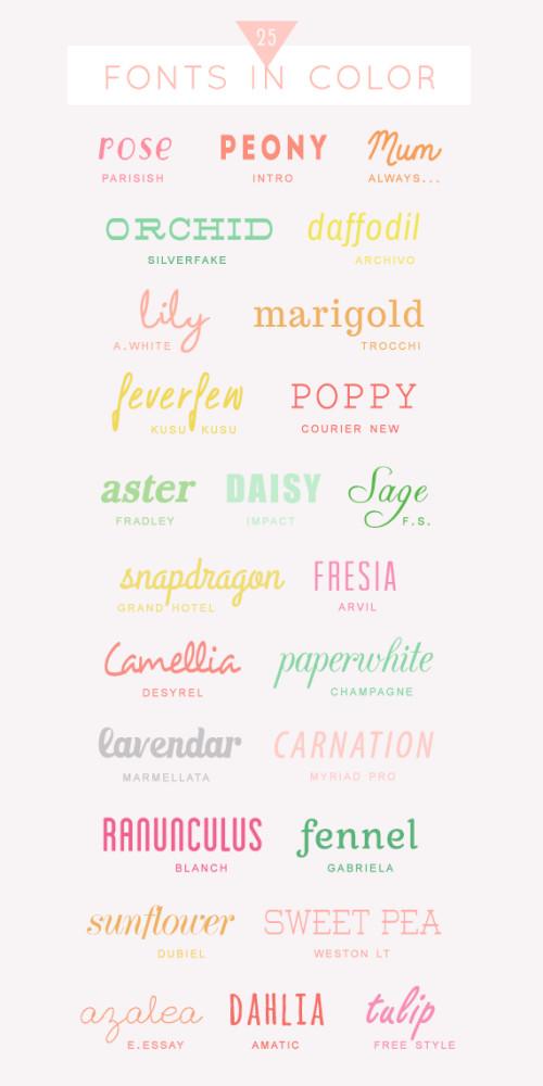 free color fonts   oldsaltfarm.com
