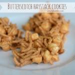 {butterscotch haystack cookies}