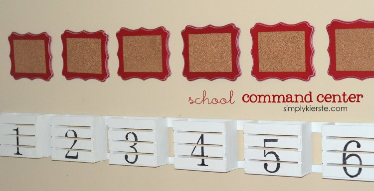school command center | simplykierste.com