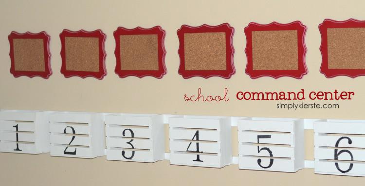 school command center | simplykierste.com