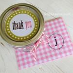 Six Steps to Saying Thank You + Free Printable Tags