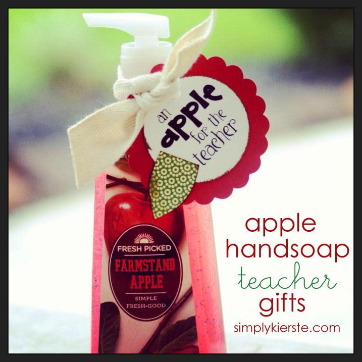 apple handsoap teacher gift | simplykierste.com