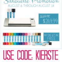 {silhouette promo & cameo giveaway!!!}