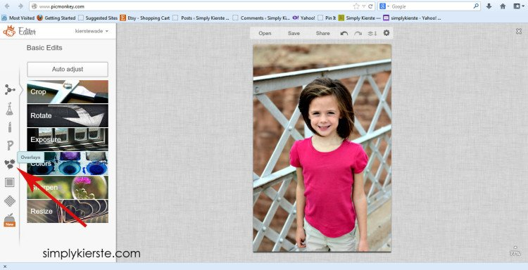 How To Watermark Your Photos | simplykierste.com