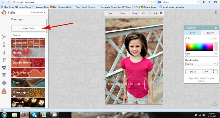 How to Watermark Your Photos | oldsaltfarm.com