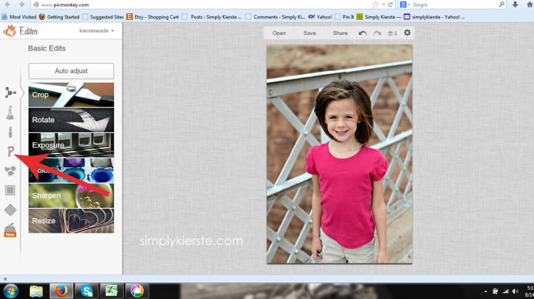 How tp Watermark Your Photos   simplykierste.com