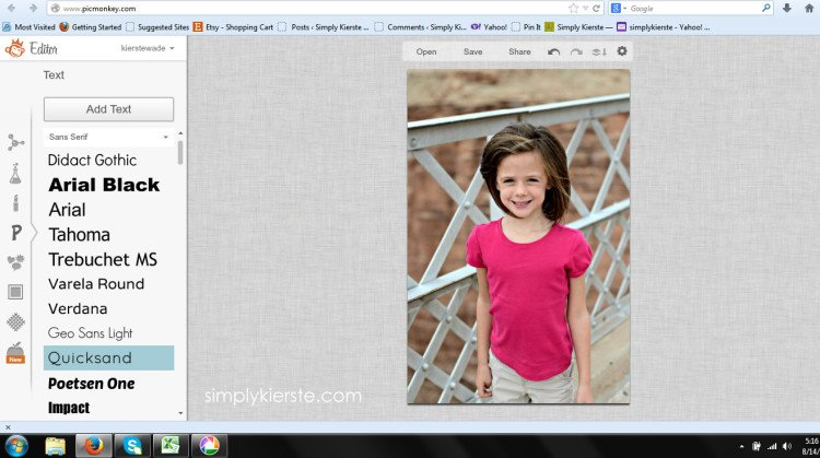 How tp Watermark Your Photos | simplykierste.com