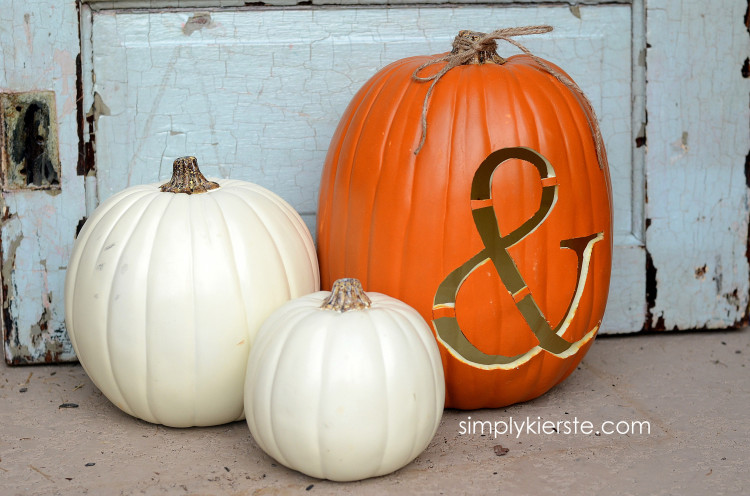 how to carve a foam pumpkin simplykierste.com