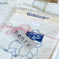 {back to school party with osh kosh