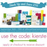 {special silhouette sale: 25%off}