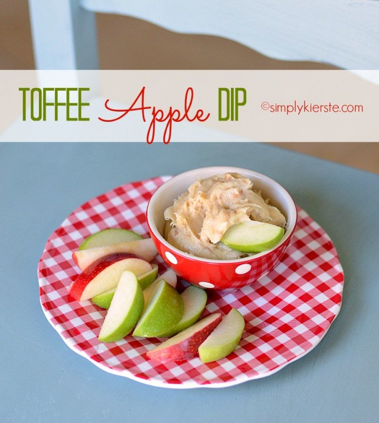 toffee apple dip | simplykierste.com