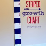 {striped growth chart}