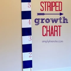 striped growth chart | simplykierste.com