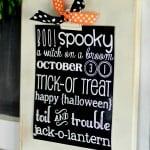 {halloween chalkboard printable}
