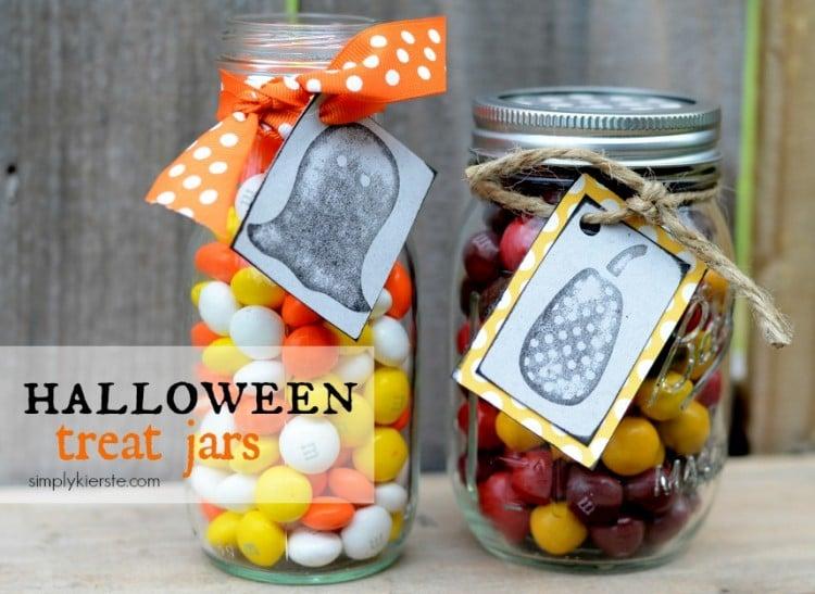 halloween treat jars | oldsaltfarm.com