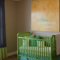 {5 tips to create a nursery +  $100 gift card the home depot GIVEAWAY!!}