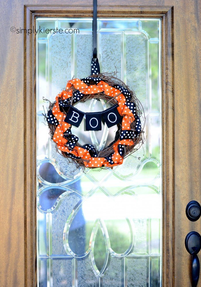 grapevine & ribbon wreath | simplykierste.com