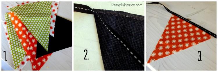 fabric bunting | oldsaltfarm.com