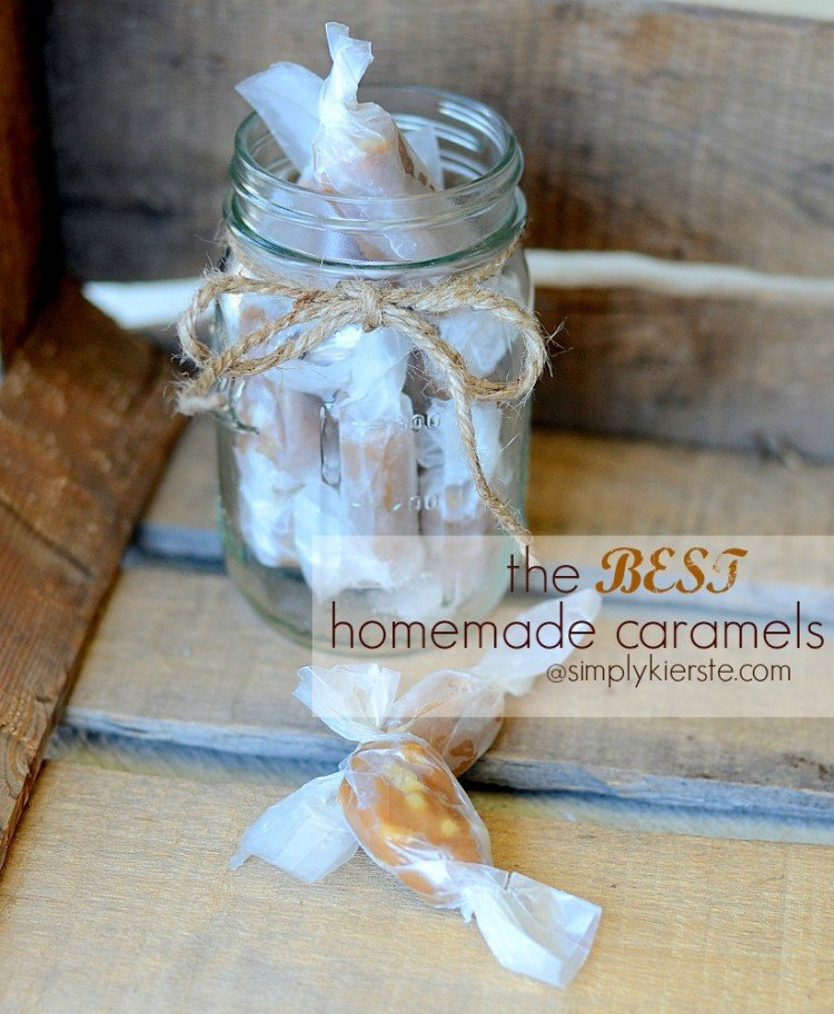 the best homemade caramels | oldsaltfarm.com