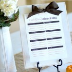 {thanksgiving checklist}