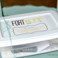 {no-sew fort kit}
