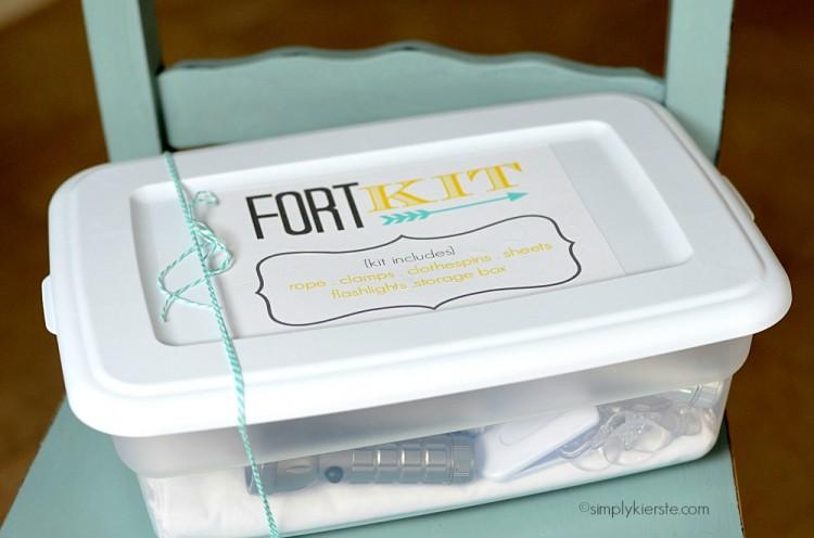 no sew fort kit | simplykierste.com