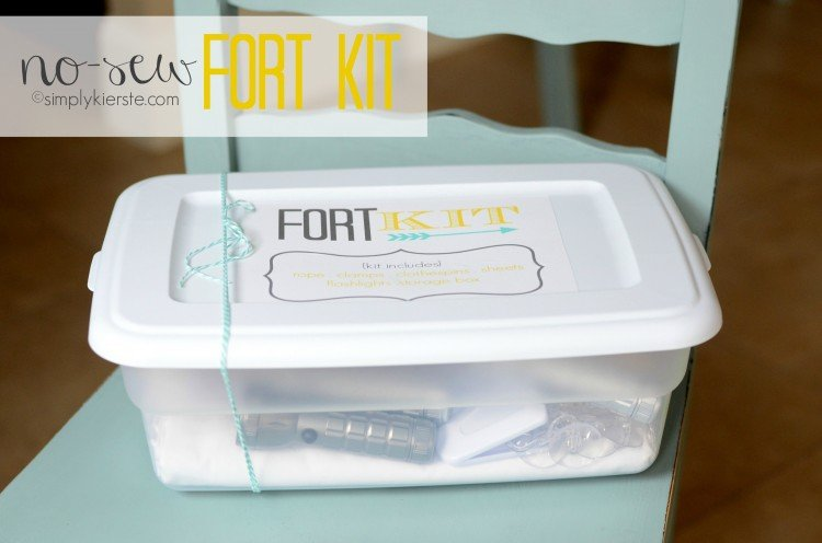 no-sew fort kit | simplykierste.com