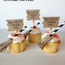 broomstick cupcake toppers | simplykierste.com