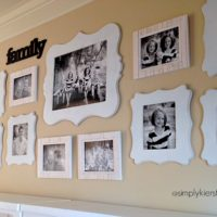 {photo gallery tips + a GIVEAWAY from cut it out frames}