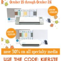 {silhouette specialty media promo and GIVEAWAY!}