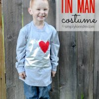 Easy Tin Man Costume + 88 Easy Costume Ideas!