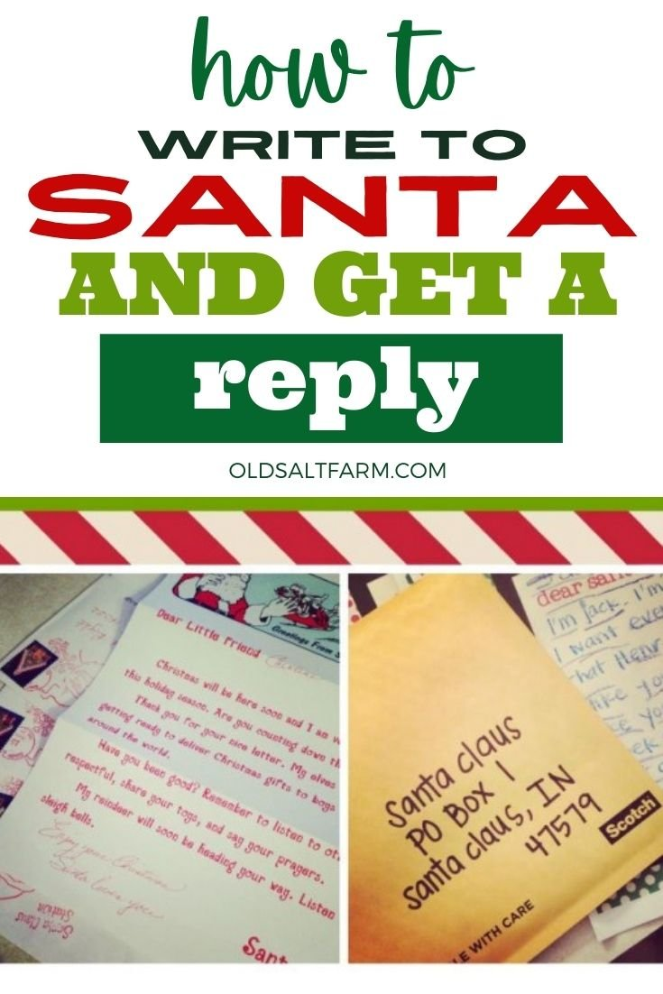 How to Write to Santa and Get a Reply!