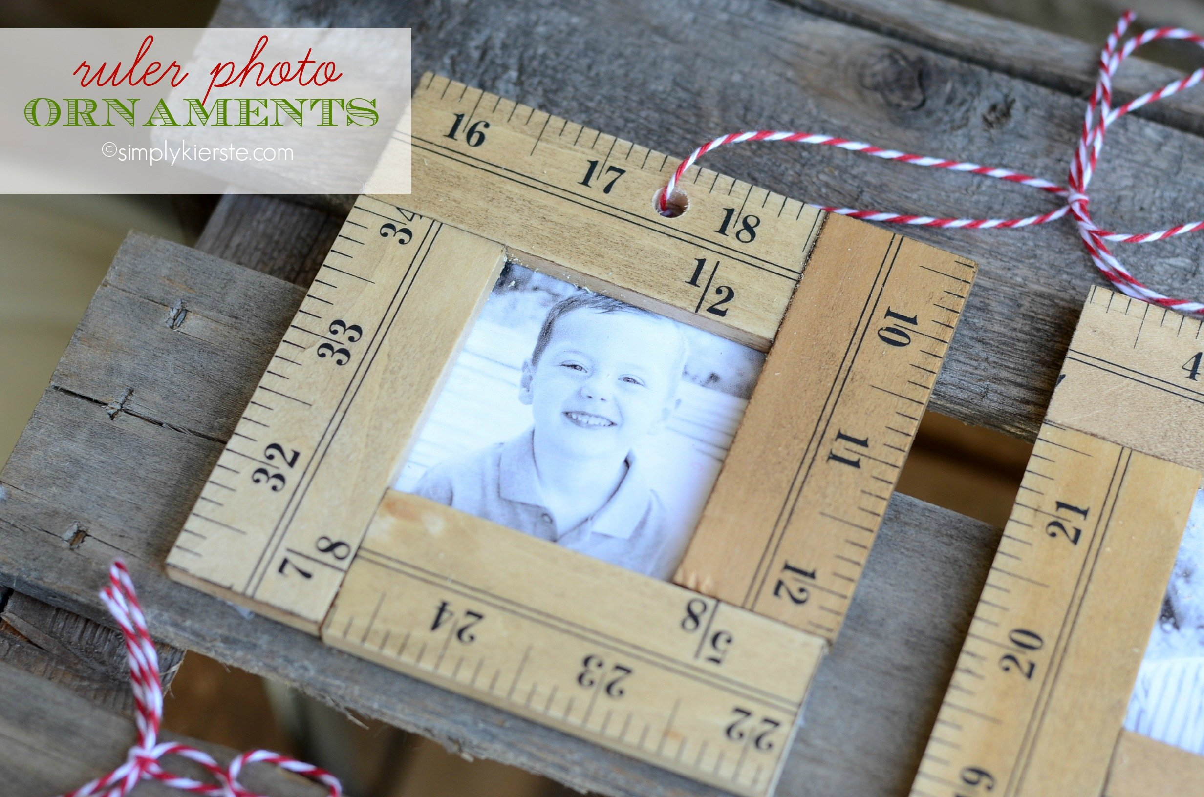 Ruler Photo Ornaments  simplykierstecom