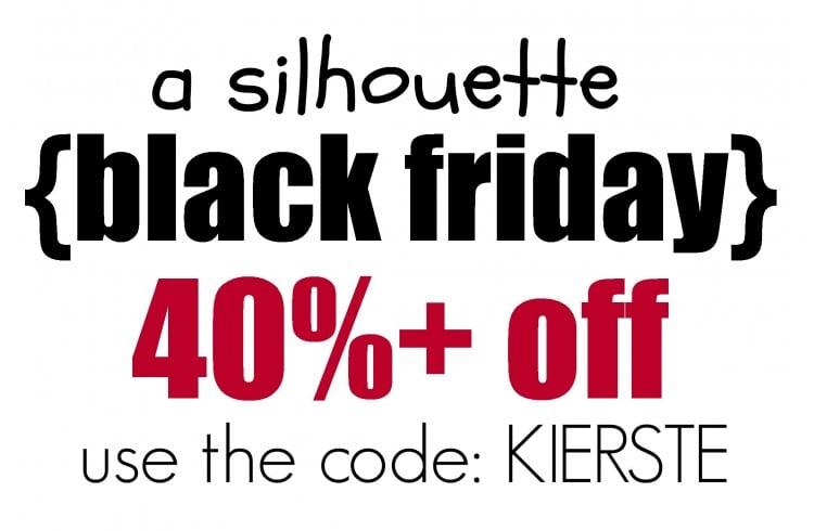 silhouette black friday | simplykierste.com
